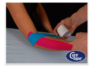 tennisarm medical taping