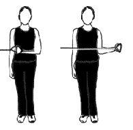 externe rotatie schouder