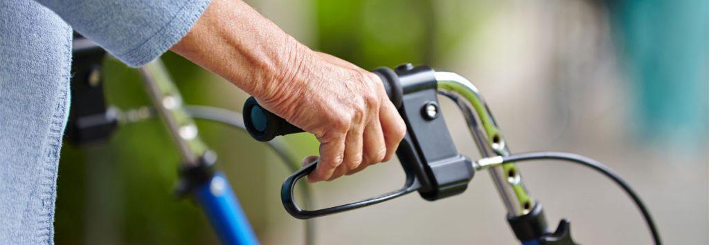 Fysiotherapie aan huis Nijmegen vallen bij ouderen